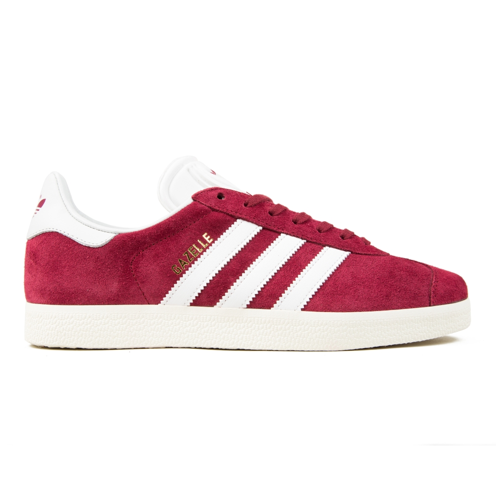 adidas Originals Gazelle (Collegiate Burgundy/White/Gold Metallic)