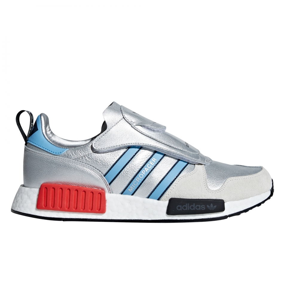adidas Originals Micropacer x NMD_R1 'Never Made' (Silver Metallic/Light Blue/Footwear White)