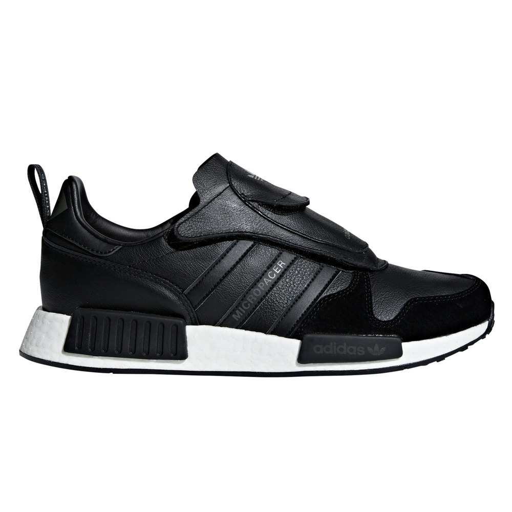 adidas Originals Micropacer x NMD_R1 'Never Made Triple Black Pack' (Core Black/Utility Black/Solar Red)
