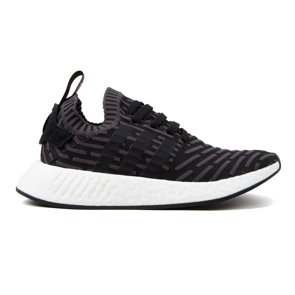 7f59facfea08b adidas Originals NMD R2 Primeknit W (Utility Black Core Black Footwear  White)