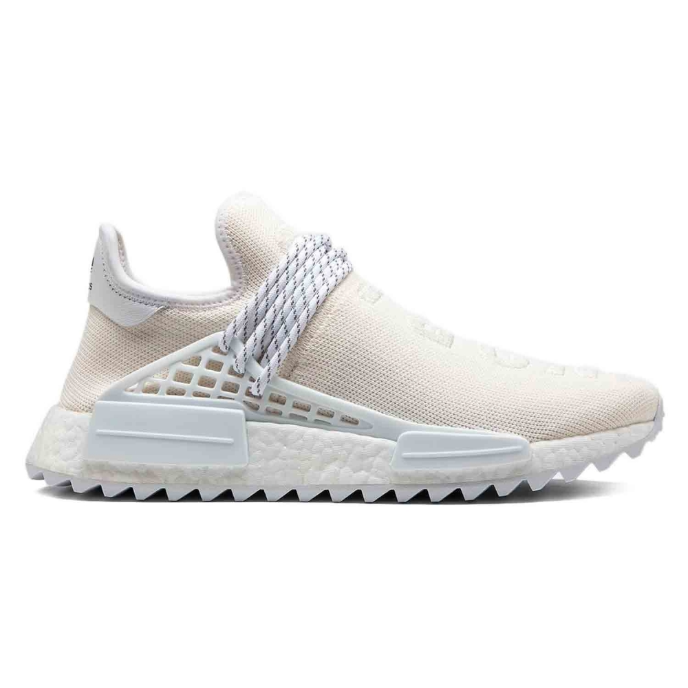 adidas Originals Pharrell Williams Hu Holi NMD 'Blank Canvas' (Cream White/Footwear White/Footwear White)