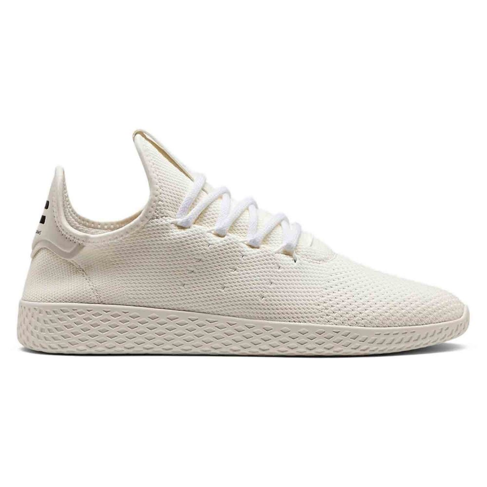 1511d42e201d5 adidas Originals Pharrell Williams Hu Holi Tennis Hu  Blank Canvas  (Cream  White
