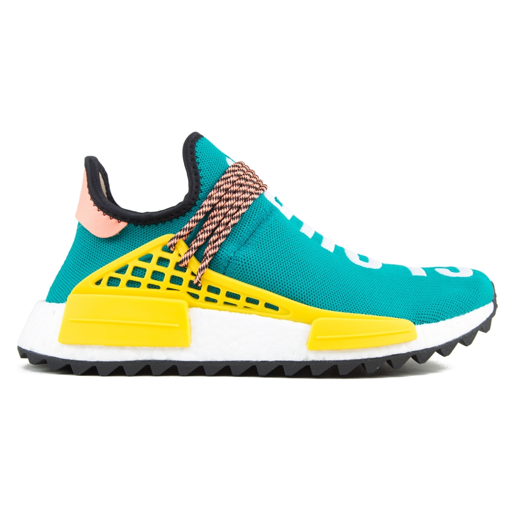 adidas Originals Pharrell Williams HU NMD_TR 'Hike' (Sun Glow S16/Core Black/Equipment Yellow S16)