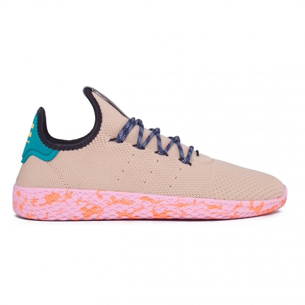 adidas Originals Pharrell Williams Tennis Hu (Footwear White/St Nomad  Yellow/Night Marine