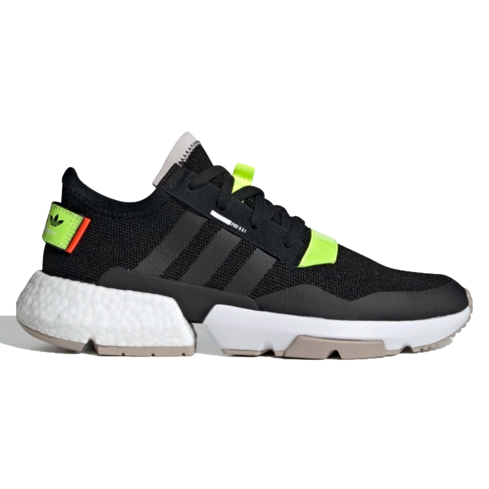 adidas Originals POD-S3.1 'Traffic Warden' (Core Black/Solar Yellow/Footwear White)