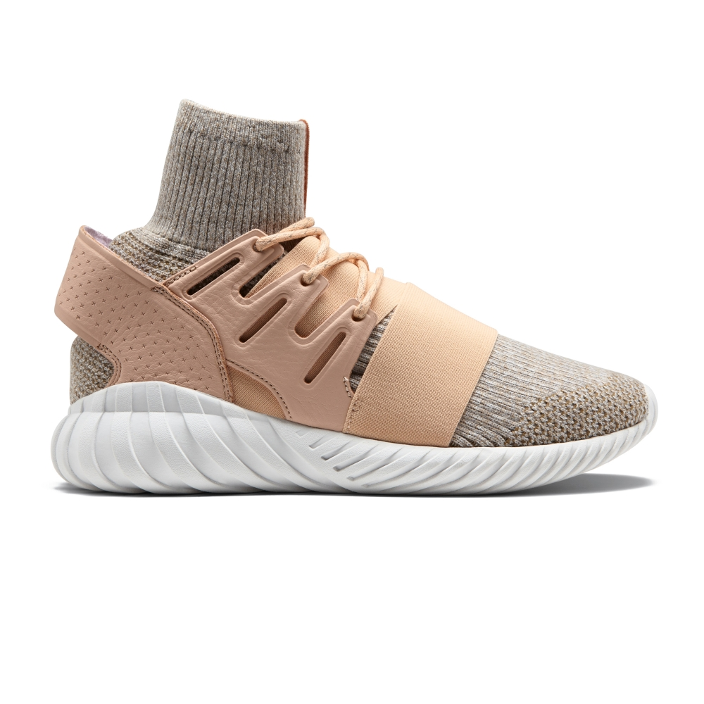 adidas Originals Tubular Doom Primeknit (Pale Nude/Clear Brown/Vintage White)
