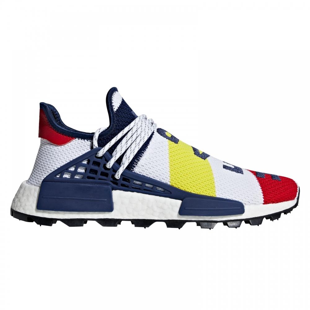 adidas Originals x Billionaire Boys Club Hu NMD 'Heart/Mind' (Footwear White/Scarlet/Dark Blue)