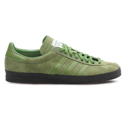 best website 74122 9d7ce adidas Originals x Oi Polloi Ardwick SPZL (PantoneForest GreenDark Brown)