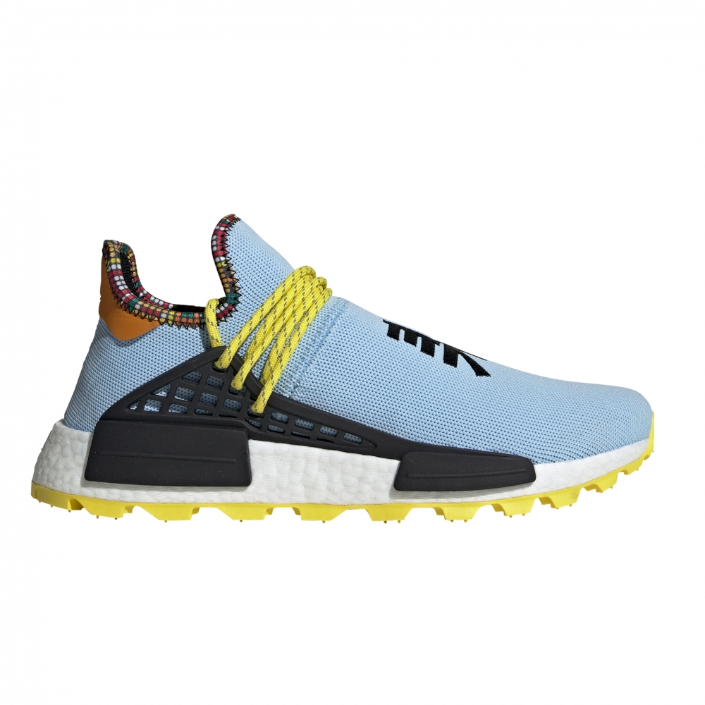 adidas Originals x Pharrell Williams SOLARHU NMD 'Inspiration Pack' (Aero Blue/Core Black/Bright Orange)