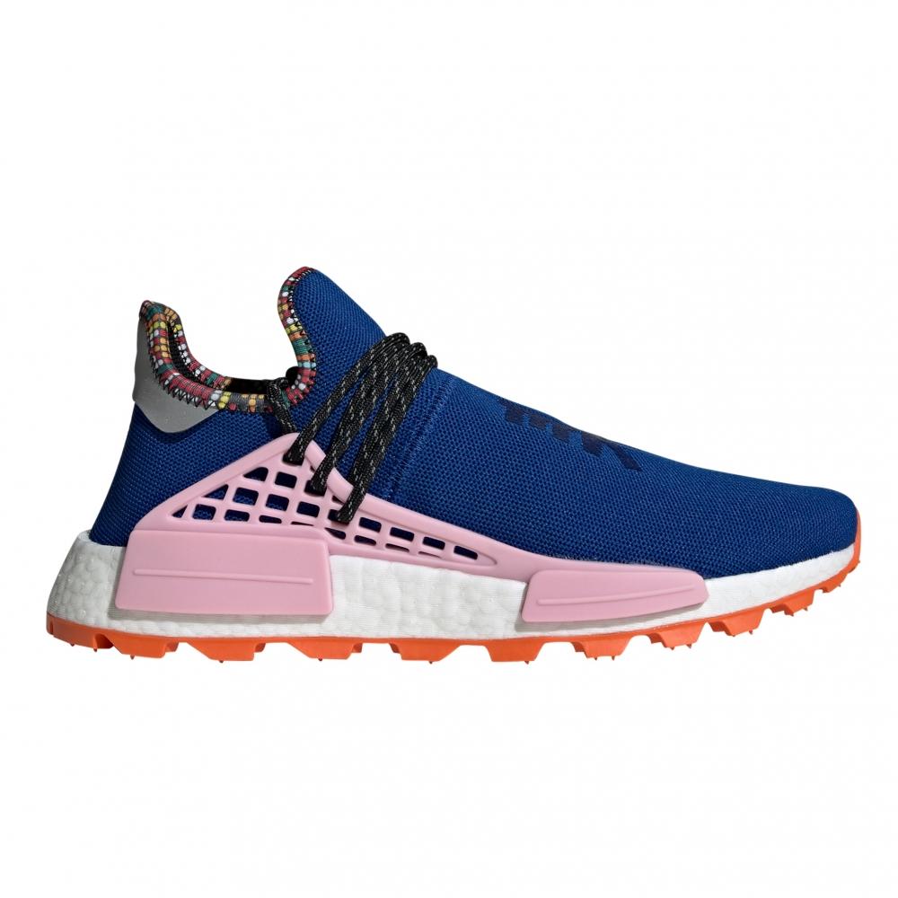 adidas Originals x Pharrell Williams SOLARHU NMD 'Inspiration Pack' (Power Blue/Light Pink/Orange)
