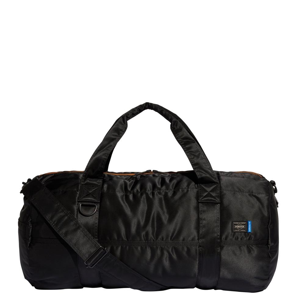 adidas Originals x Porter Two-Way Boston Bag (Black)