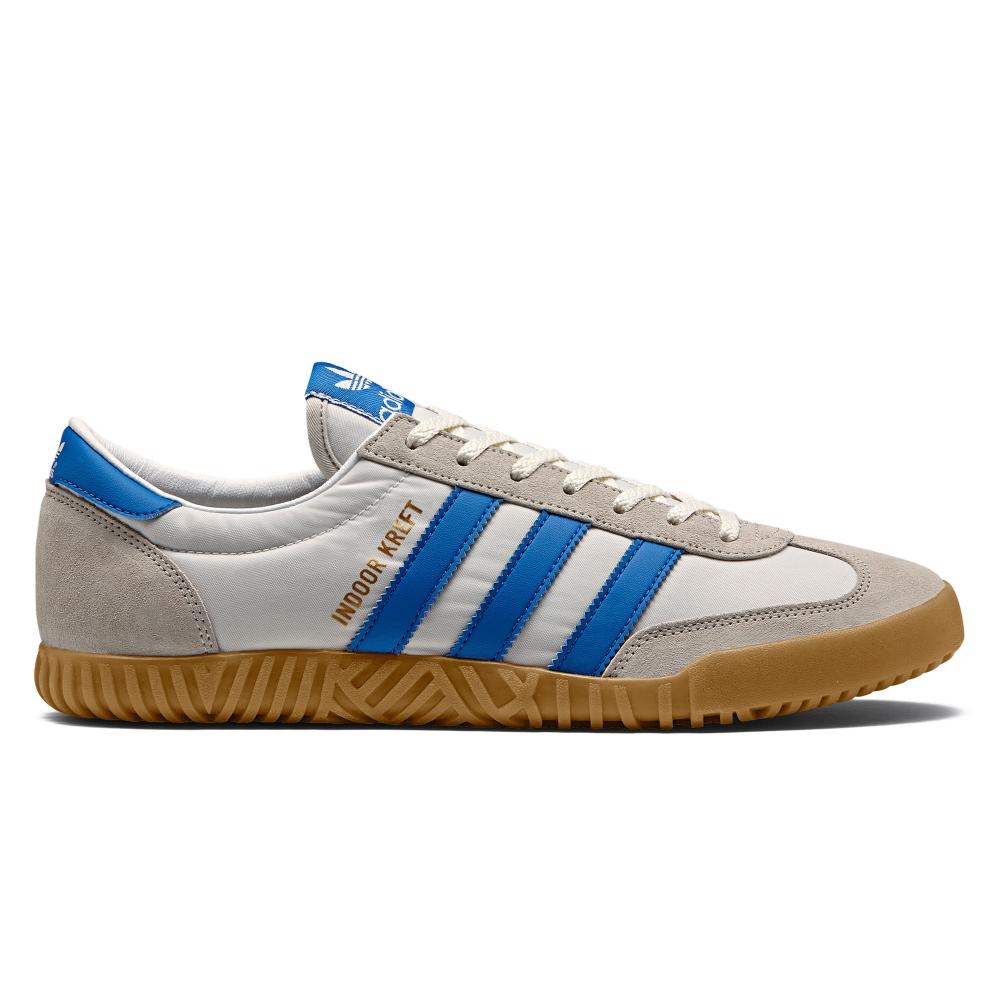 adidas Originals x SPEZIAL Indoor Kreft SPZL (Chalk White/Bright Blue/Footwear White