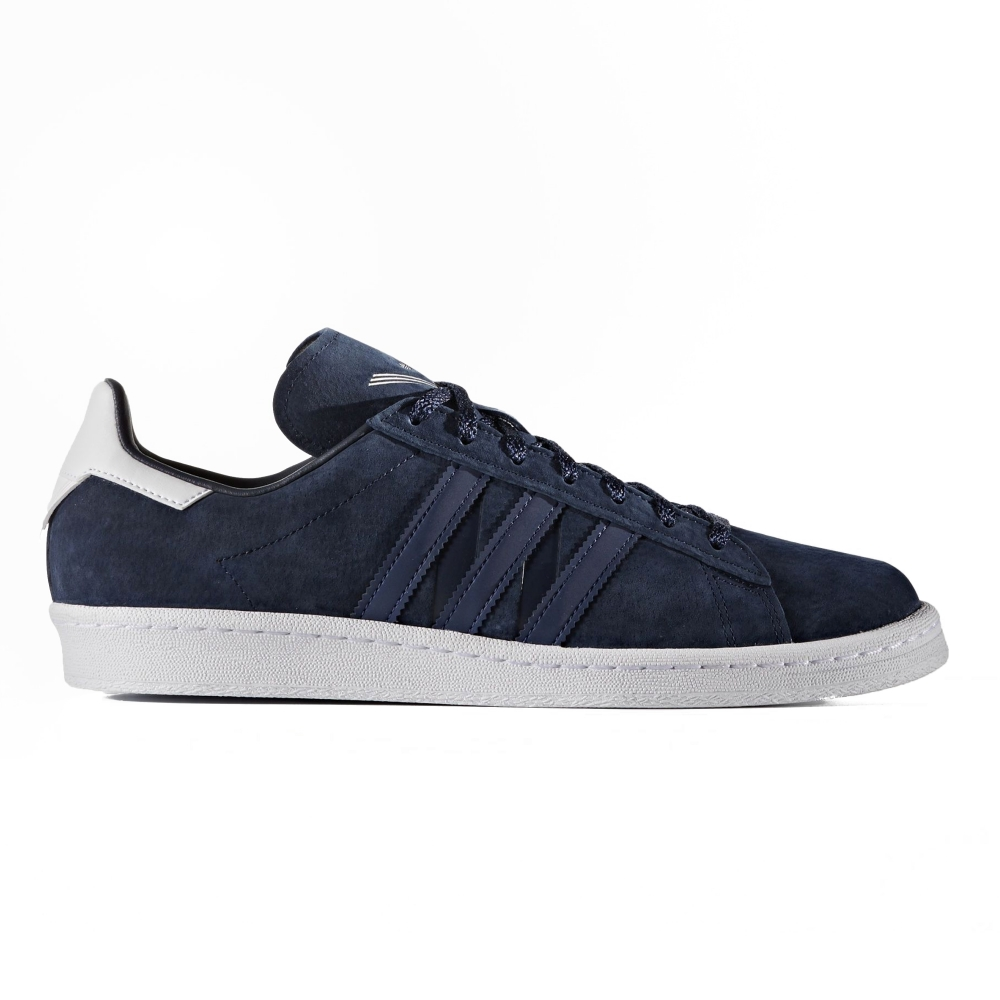 sports shoes 409a2 737b5 adidas Originals x White Mountaineering Campus 80s (Collegiate Navy Mystery  Blue Footwear White)
