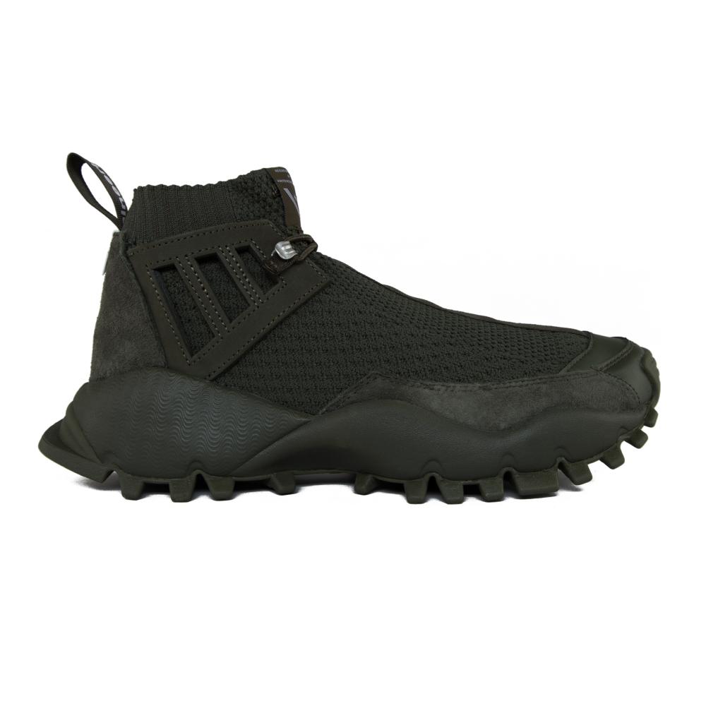 adidas Adidas x White Mountaineering Seeulater Alledo Primeknit Night Cargo/ Night Cargo/ Night Cargo BA3ZHbP