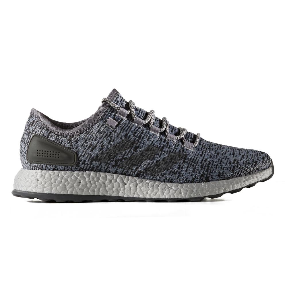 huge selection of 5fef1 e39e7 adidas PureBOOST LTD (Grey Dark Grey Heather Solid Grey Clear Grey)