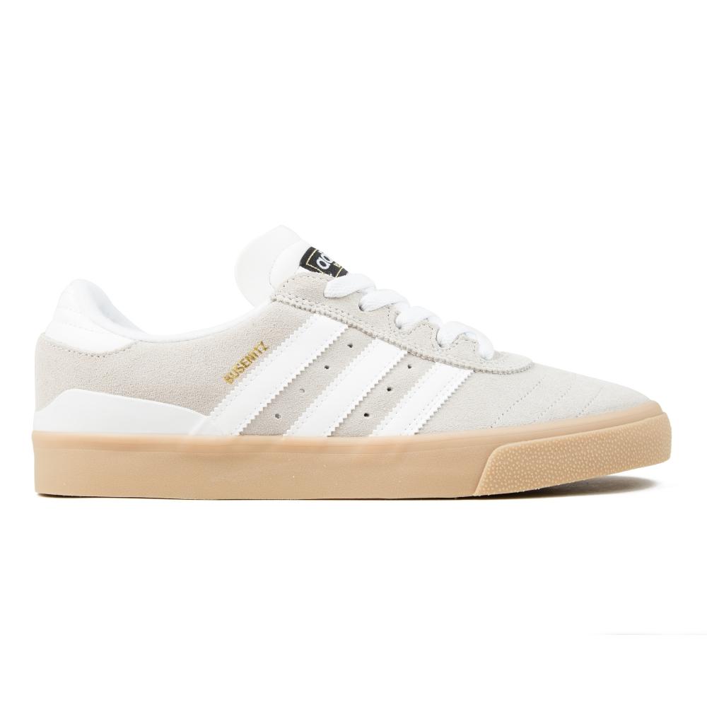 adidas Skateboarding Busenitz Vulc ADV (Crystal White S16/Crystal White S16/Gum 416)