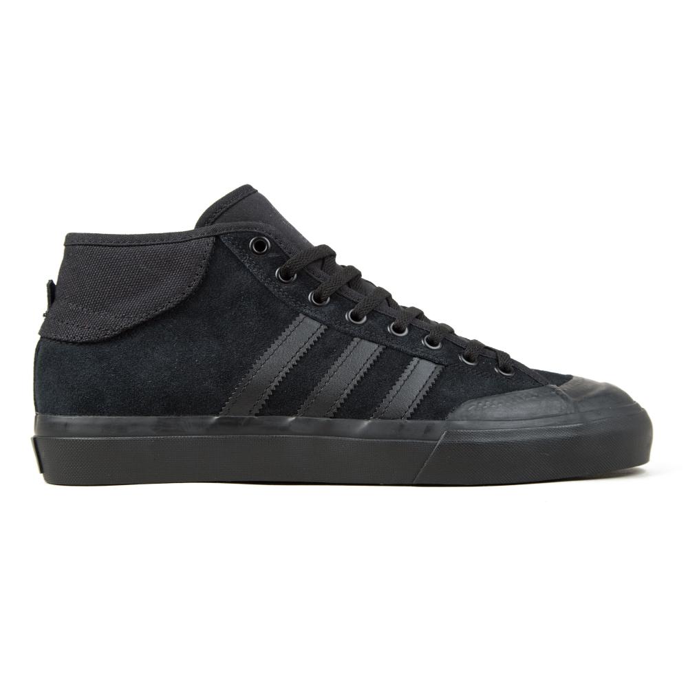 adidas Skateboarding Matchcourt Mid ADV (Core Black/Core Black/Core Black)