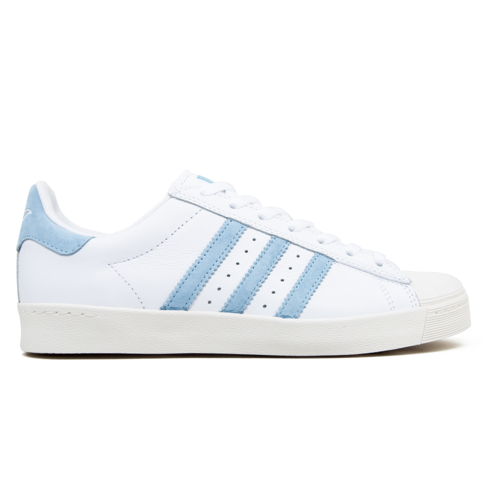 adidas Skateboarding x Krooked Superstar Vulc (Footwear White/Customized/Chalk White)