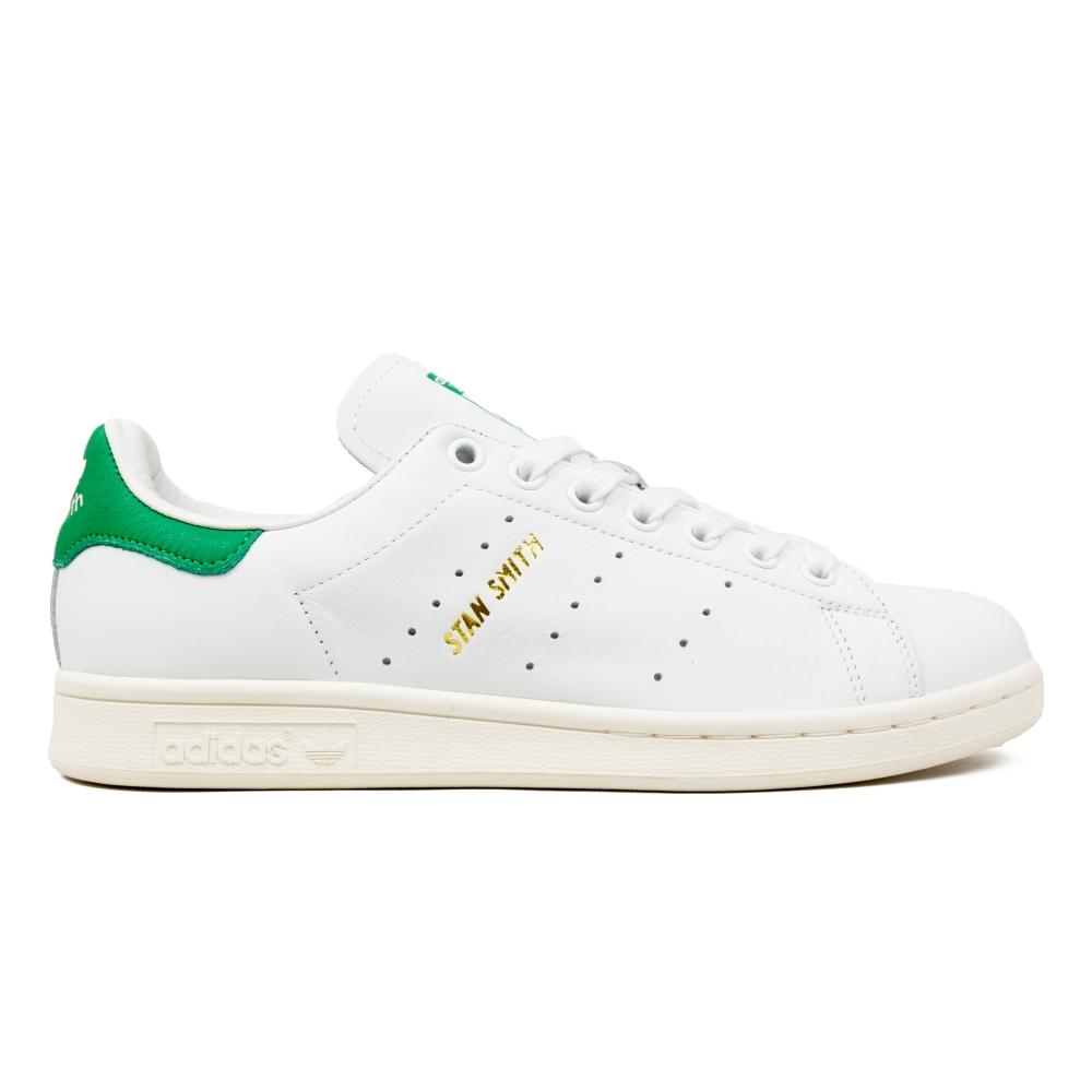 32056096ade adidas Originals Stan Smith (Footwear White/Footwear White/Green ...