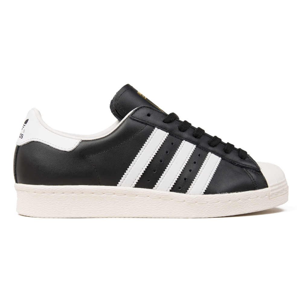 adidas superstar black 80s