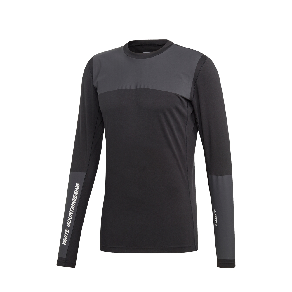 adidas TERREX by White Mountaineering Agravic Bonded Long Sleeve T-Shirt (Black)
