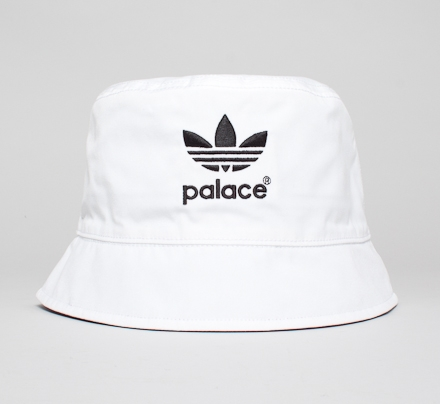 Adidas x Palace Bucket Hat (White)
