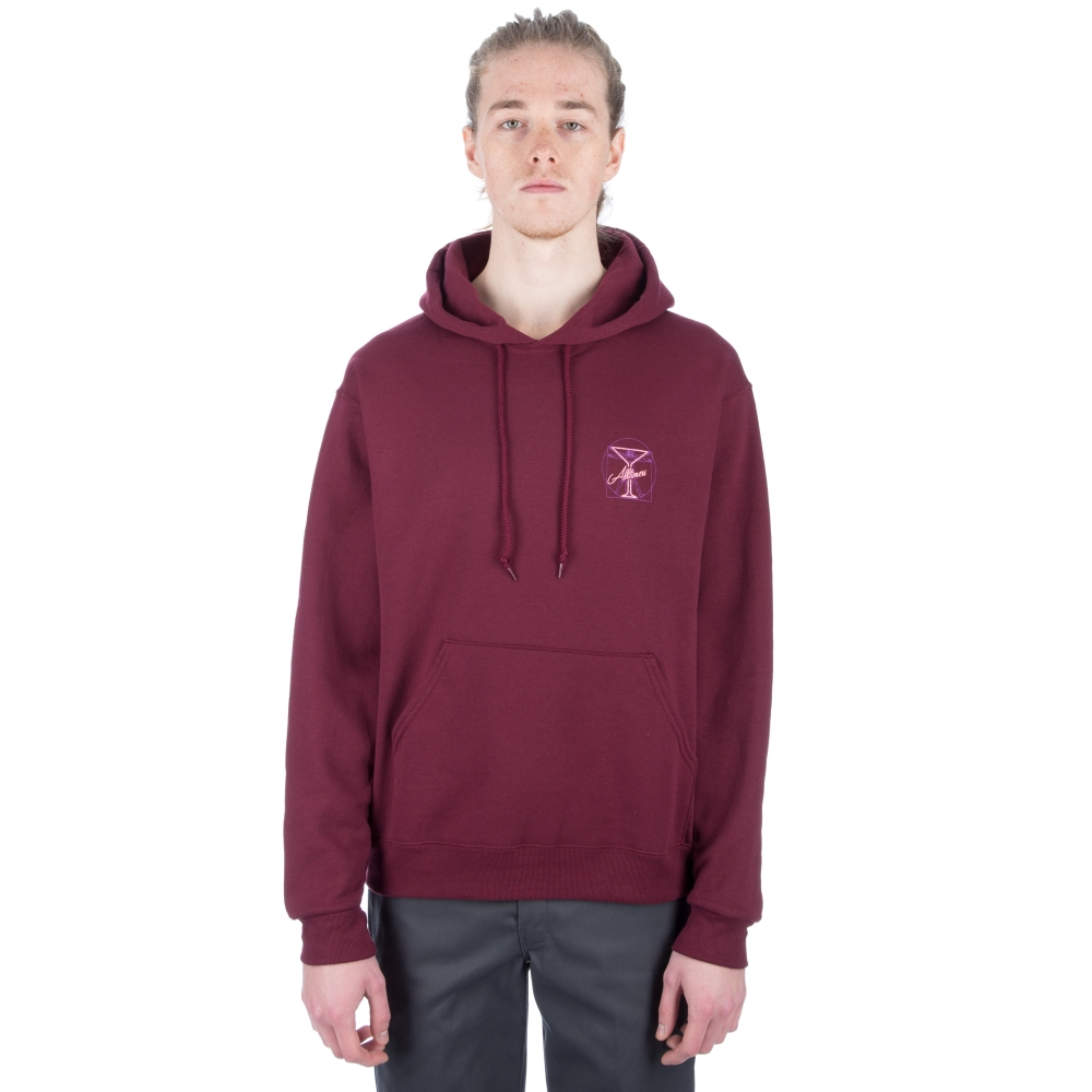 Alltimers Beginning Pullover Hooded Sweatshirt (Burgundy)