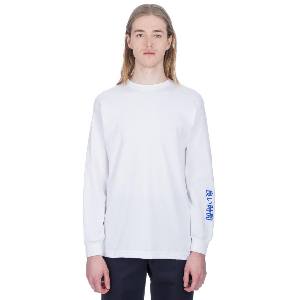 Alltimers Block Long Sleeve T-Shirt (White)