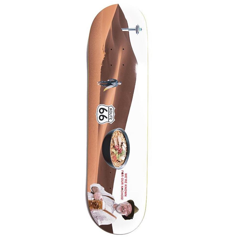 "Alltimers Confusing Tourism Dessert Skateboard Deck 8.1"""