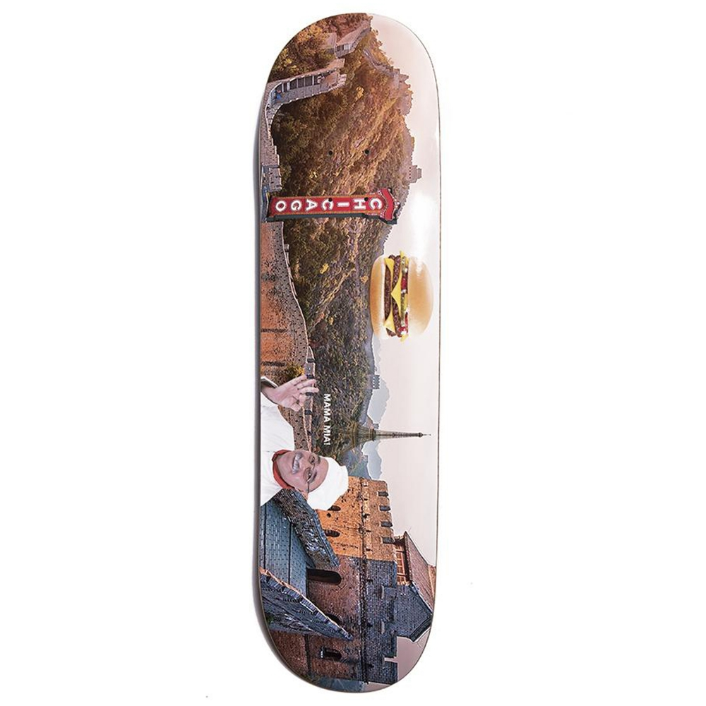 Alltimers Confusing Tourism Great Wall Skateboard Deck 8.25""
