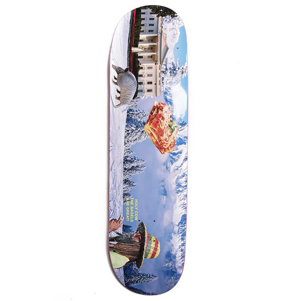Alltimers Confusing Tourism Snow Skateboard Deck 8.5""