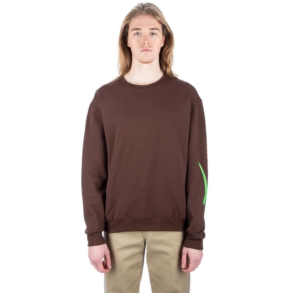 Alltimers Estate Crew Neck Sweatshirt (Brown)