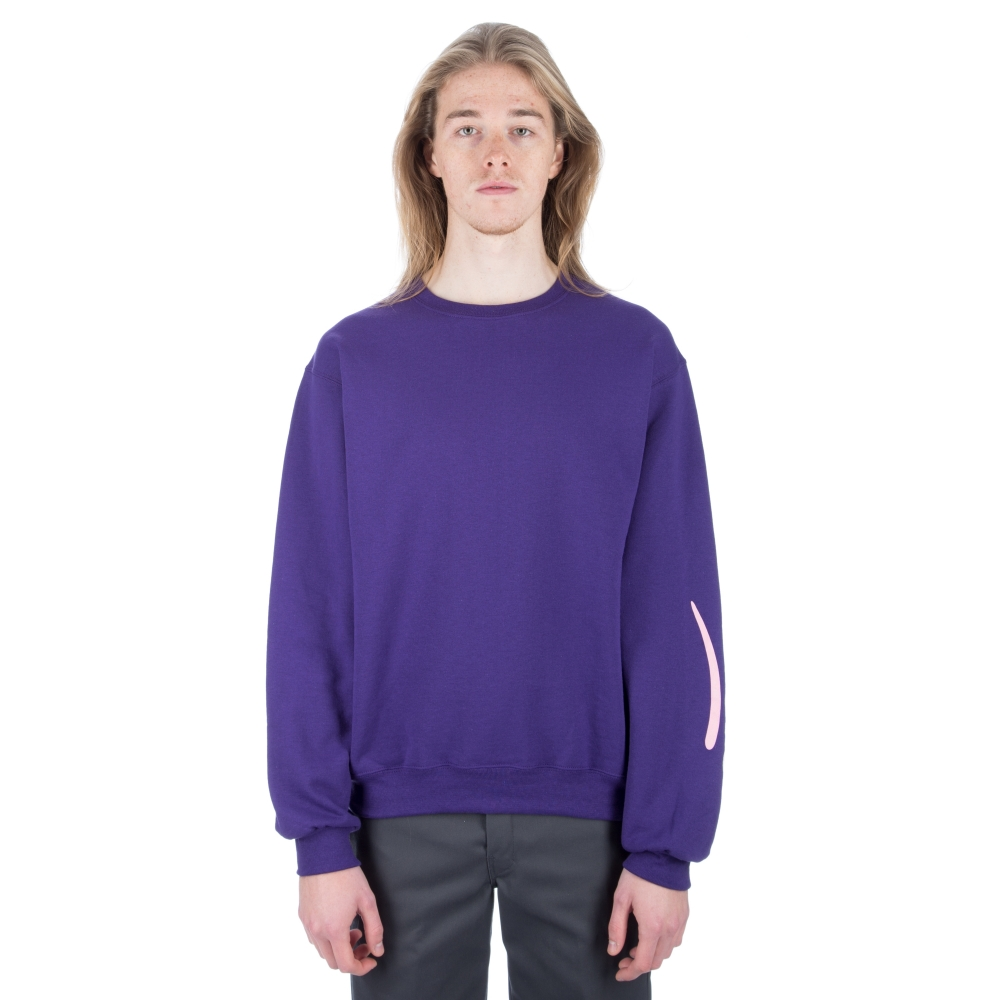 Alltimers Estate Crew Neck Sweatshirt (Purple)
