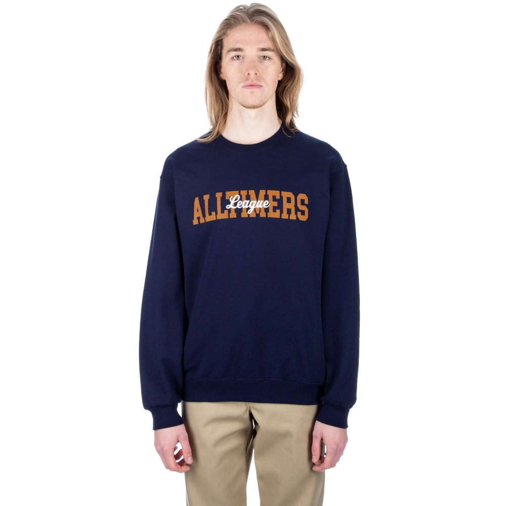 Alltimers League Crew Neck Sweatshirt (Blue)