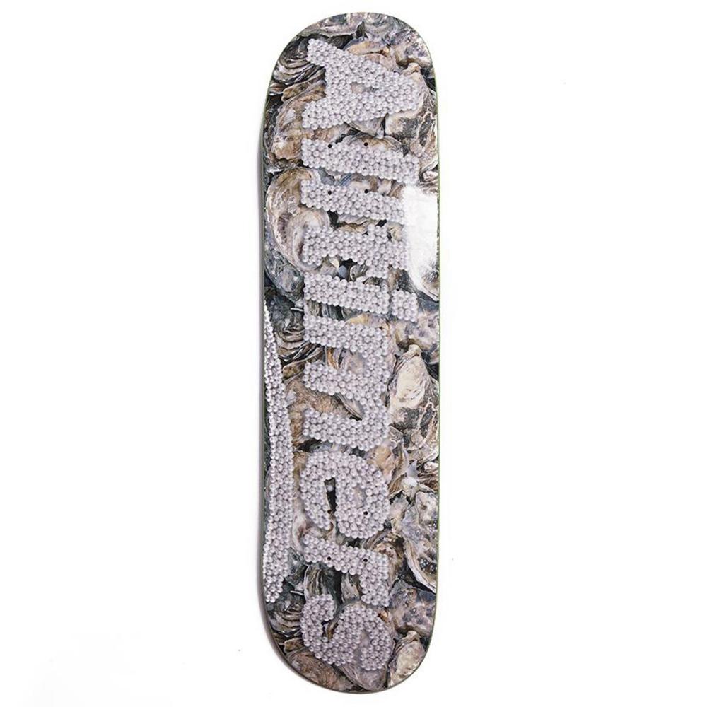 "Alltimers Pearls Logo Skateboard Deck 8.0"""