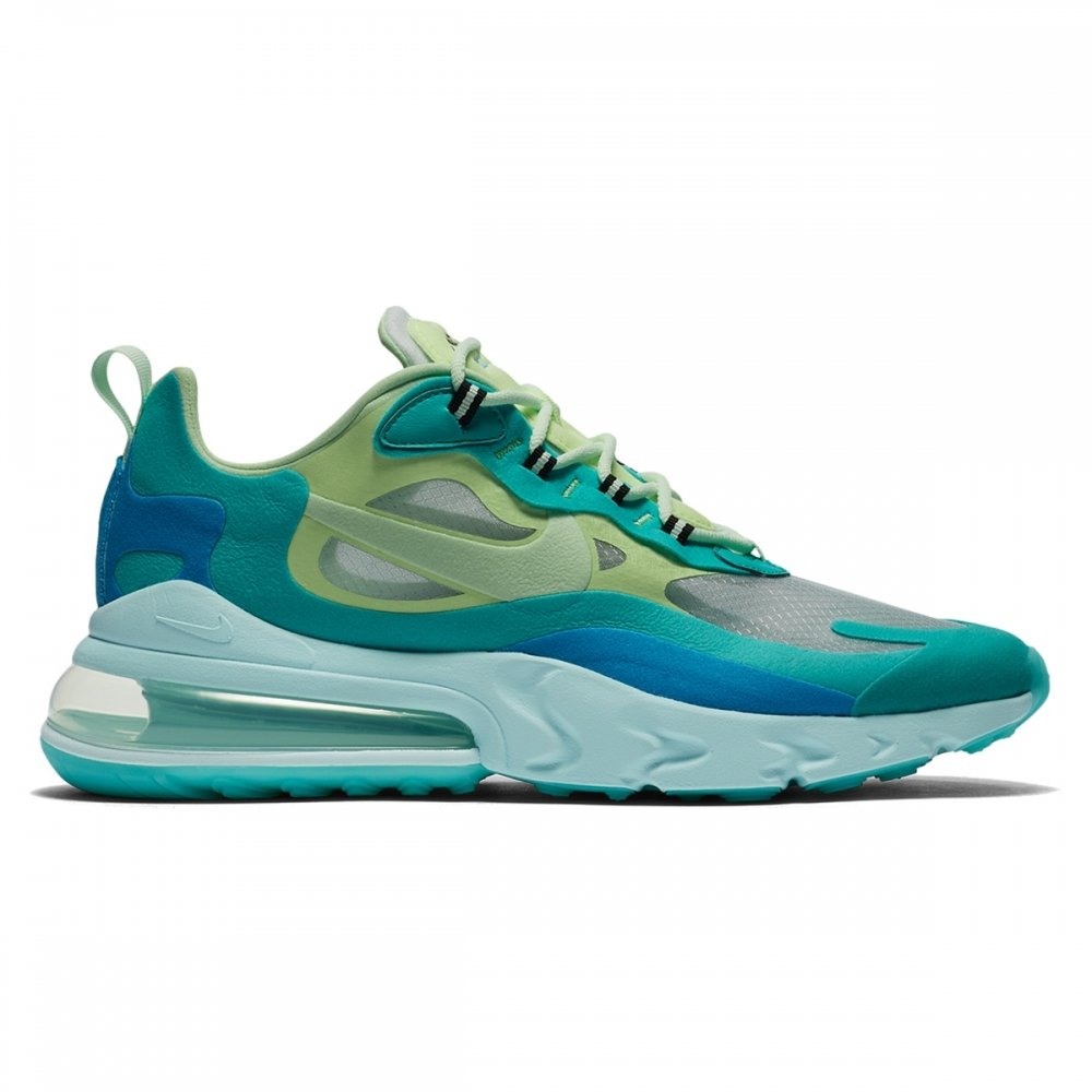 Nike Air Max 270 React 'Hyper Jade' (Hyper Jade/Frosted Spruce-Barely Volt)