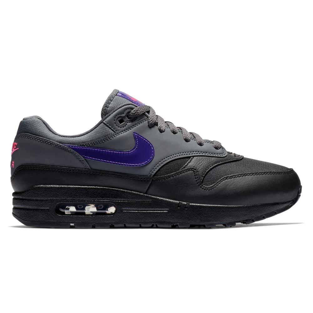 d8380c4e4a7 Nike Air Max 1 (Dark Grey Fierce Purple-Black-Pink Blast) - Consortium