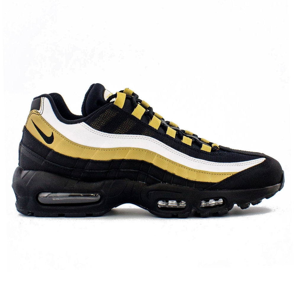 Nike Air Max 95 OG 'Black Gold' (Black/Black-Metallic Gold)