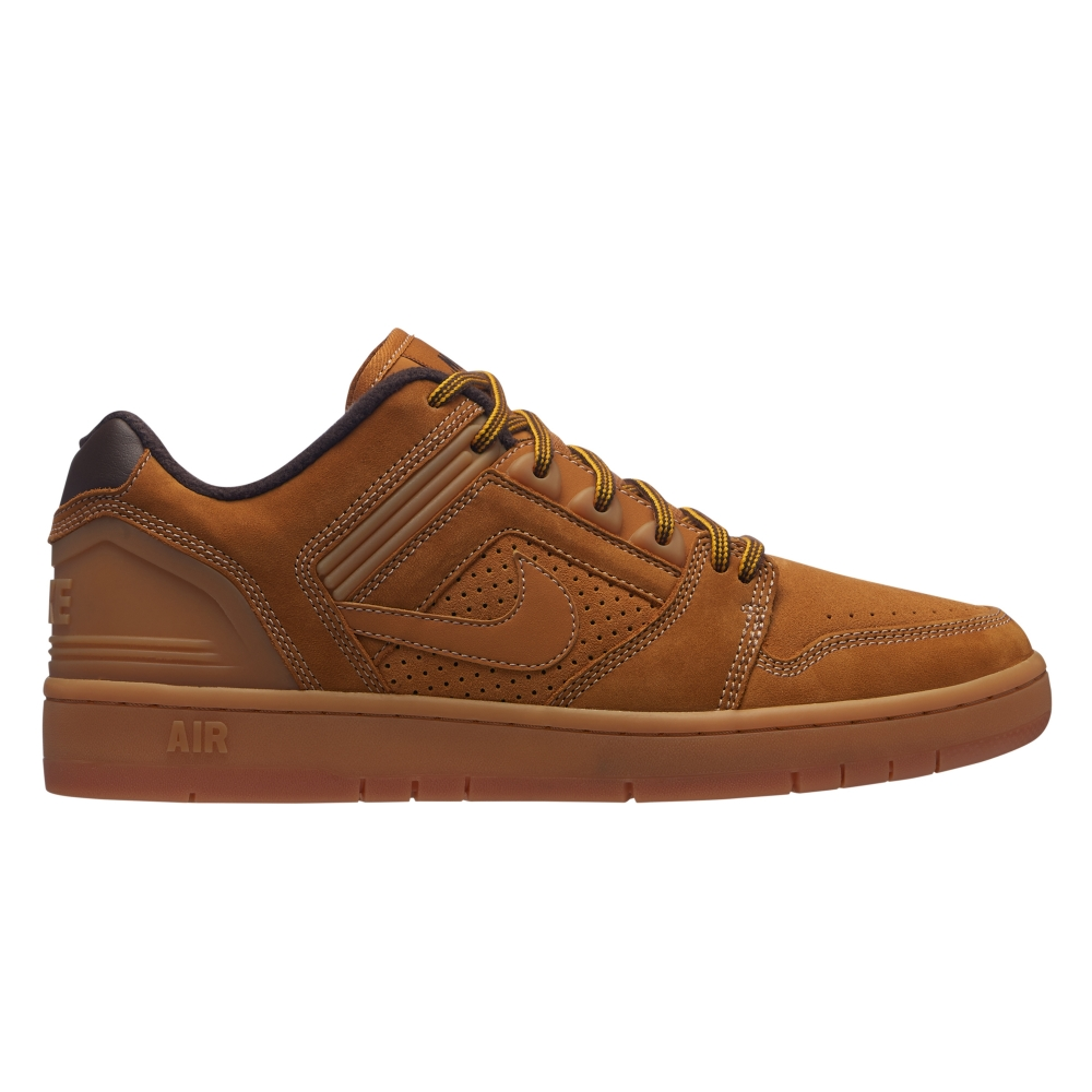 Nike SB Air Force II Low Premium (Bronze/Bronze-Baroque Brown)