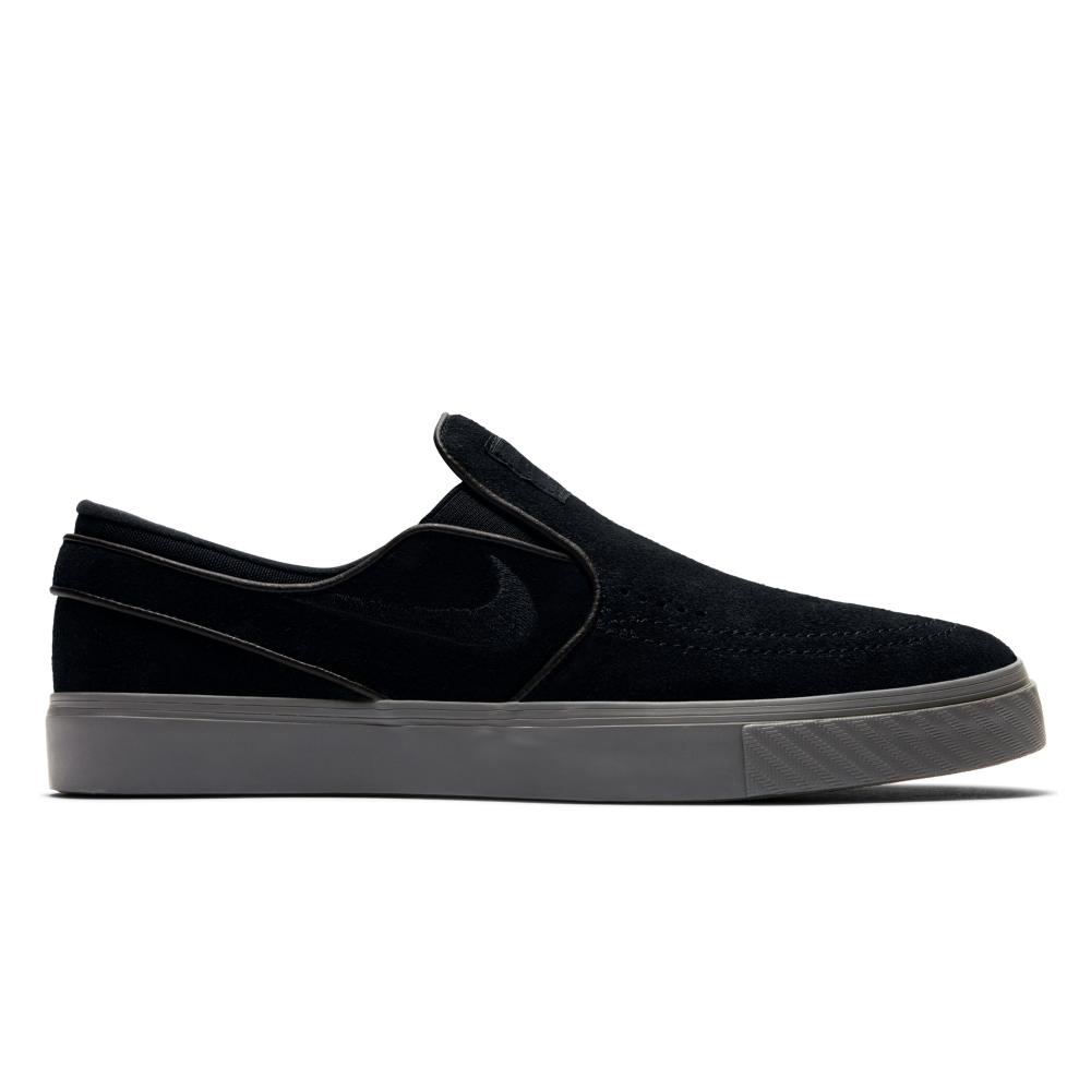 Nike SB Zoom Stefan Janoski Slip-On (Black/Black-Thunder Grey)