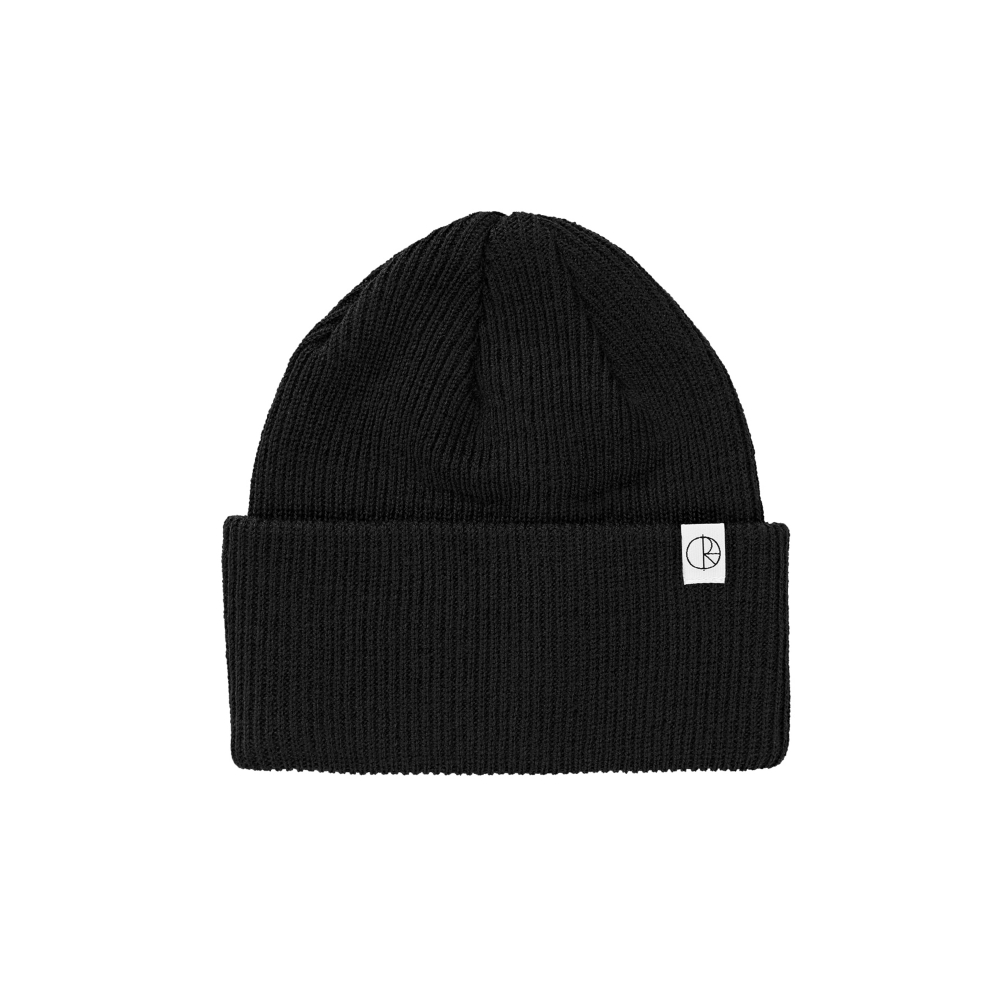 Polar Skate Co. Merino Beanie (Black)