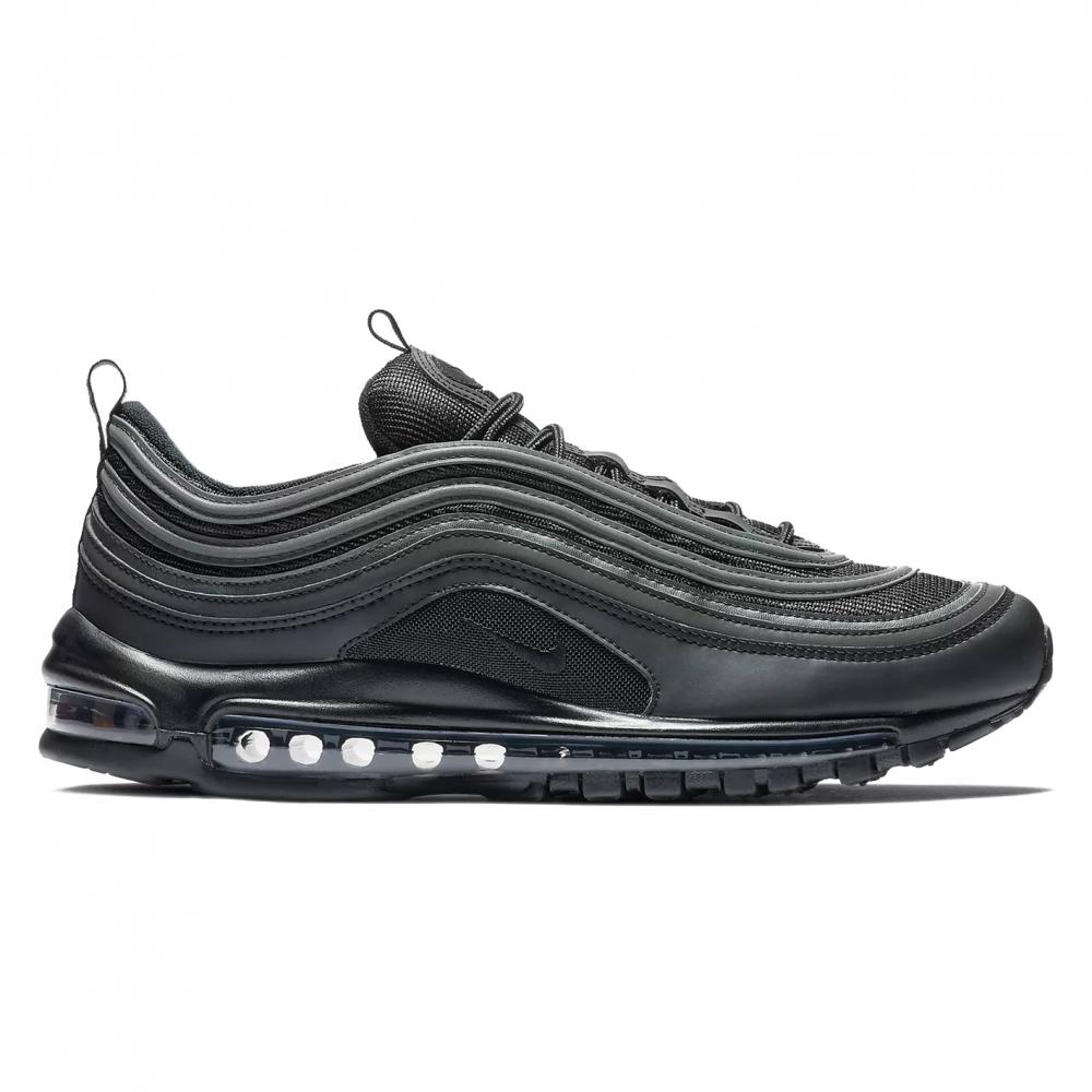 Nike Air Max 97 'Triple Black' (Black/Black-White)