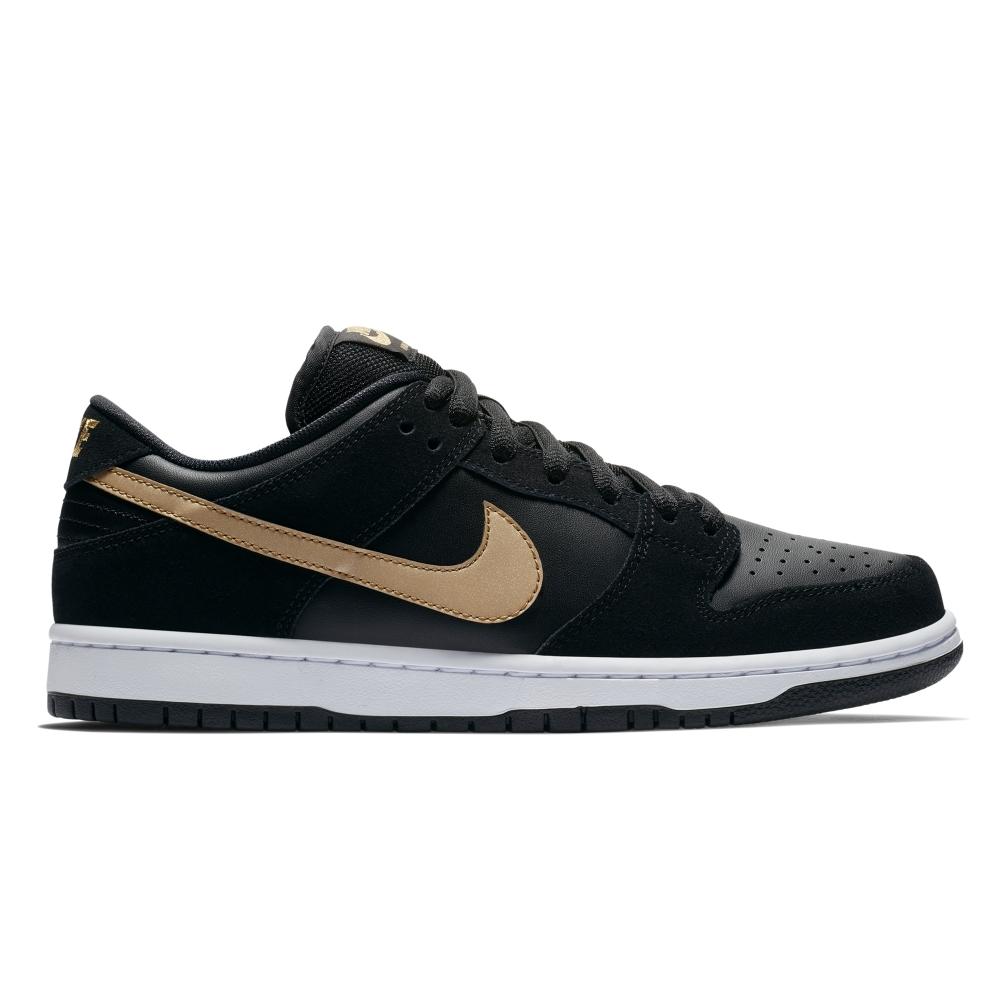 Nike SB Zoom Dunk Low Pro 'Takashi' (Black/Metallic-Gold)