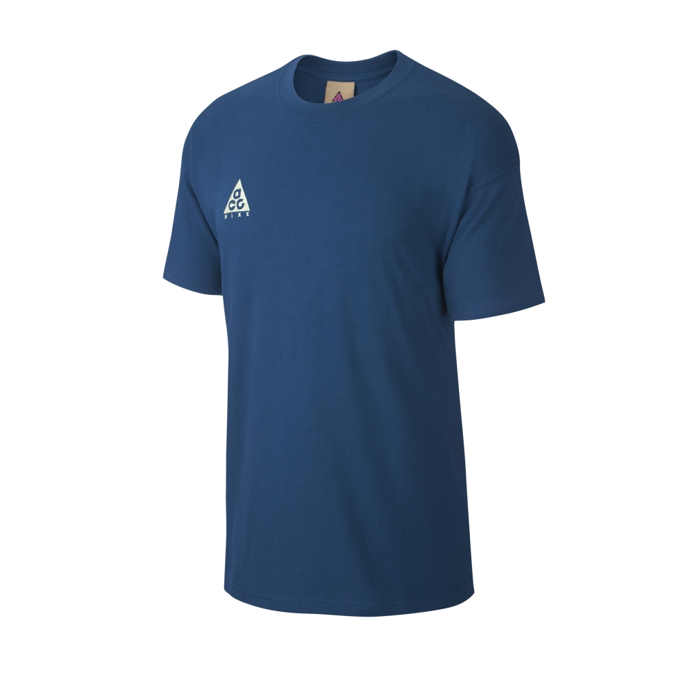 Nike ACG NRG Logo T-Shirt (Force Blue/Barely Volt)