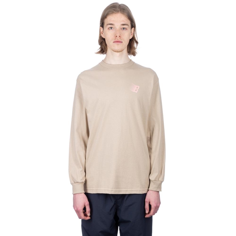 Bronze 56k Classic Logo Long Sleeve T-Shirt (Sand/Pink)