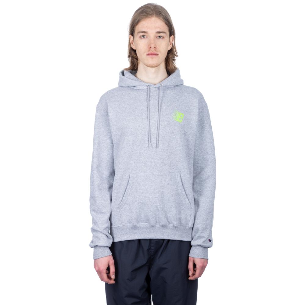 Bronze 56k Classic Logo Pullover Hooded Sweatshirt (Ash Heather Grey)