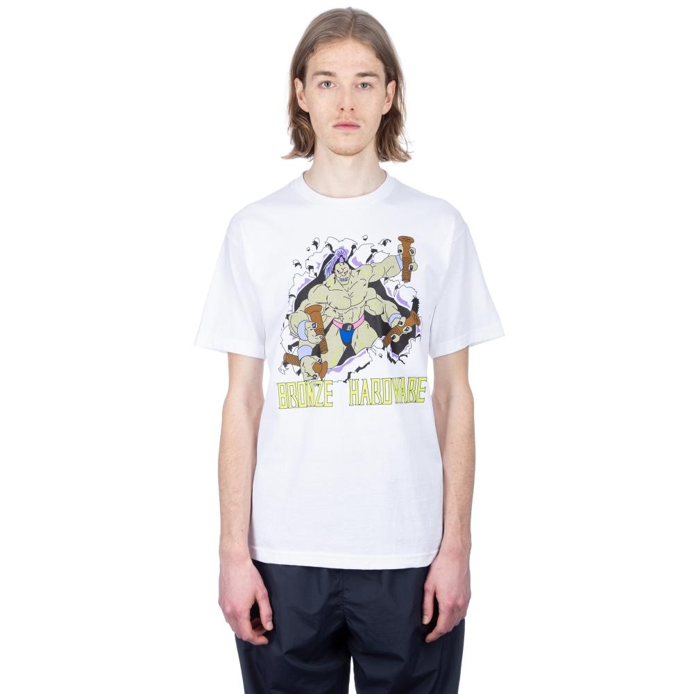 Bronze 56k Guru T-Shirt (White)