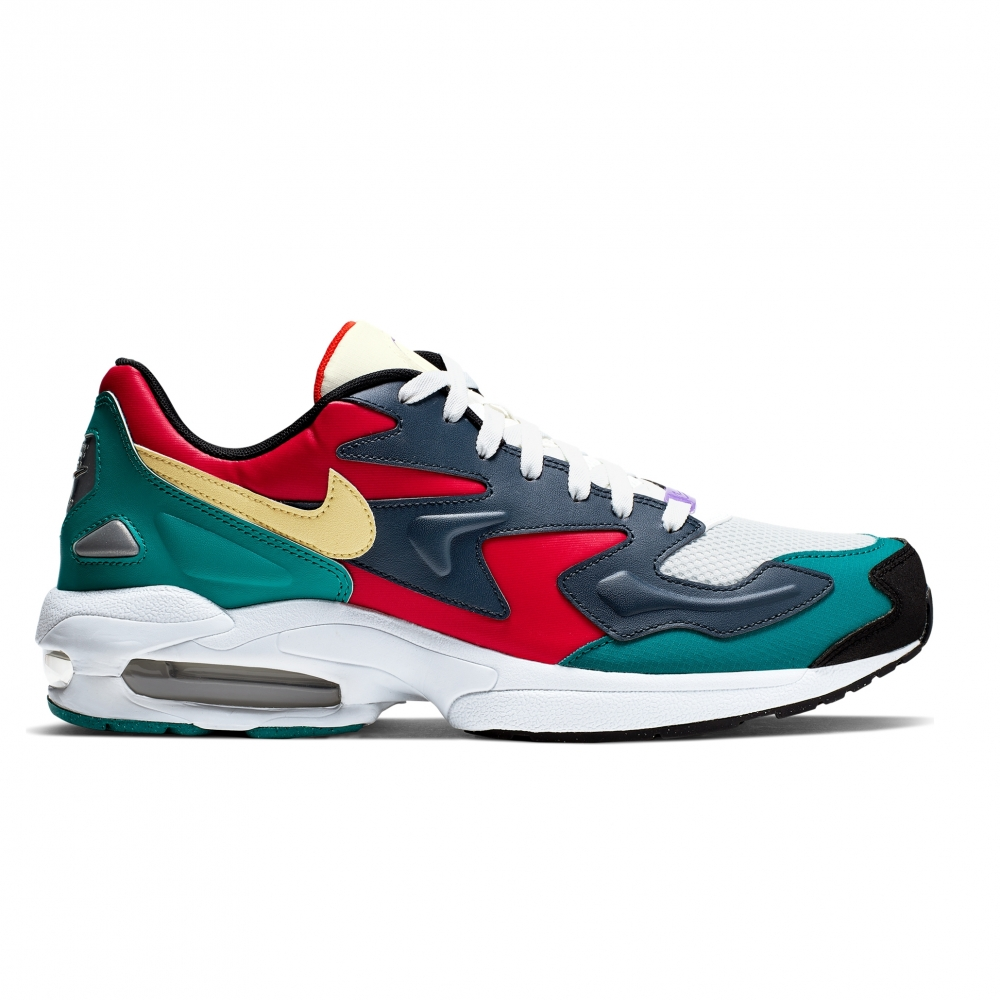 Nike Air Max2 Light SP (Habanero Red/Armory Navy-Radiant Emerald)