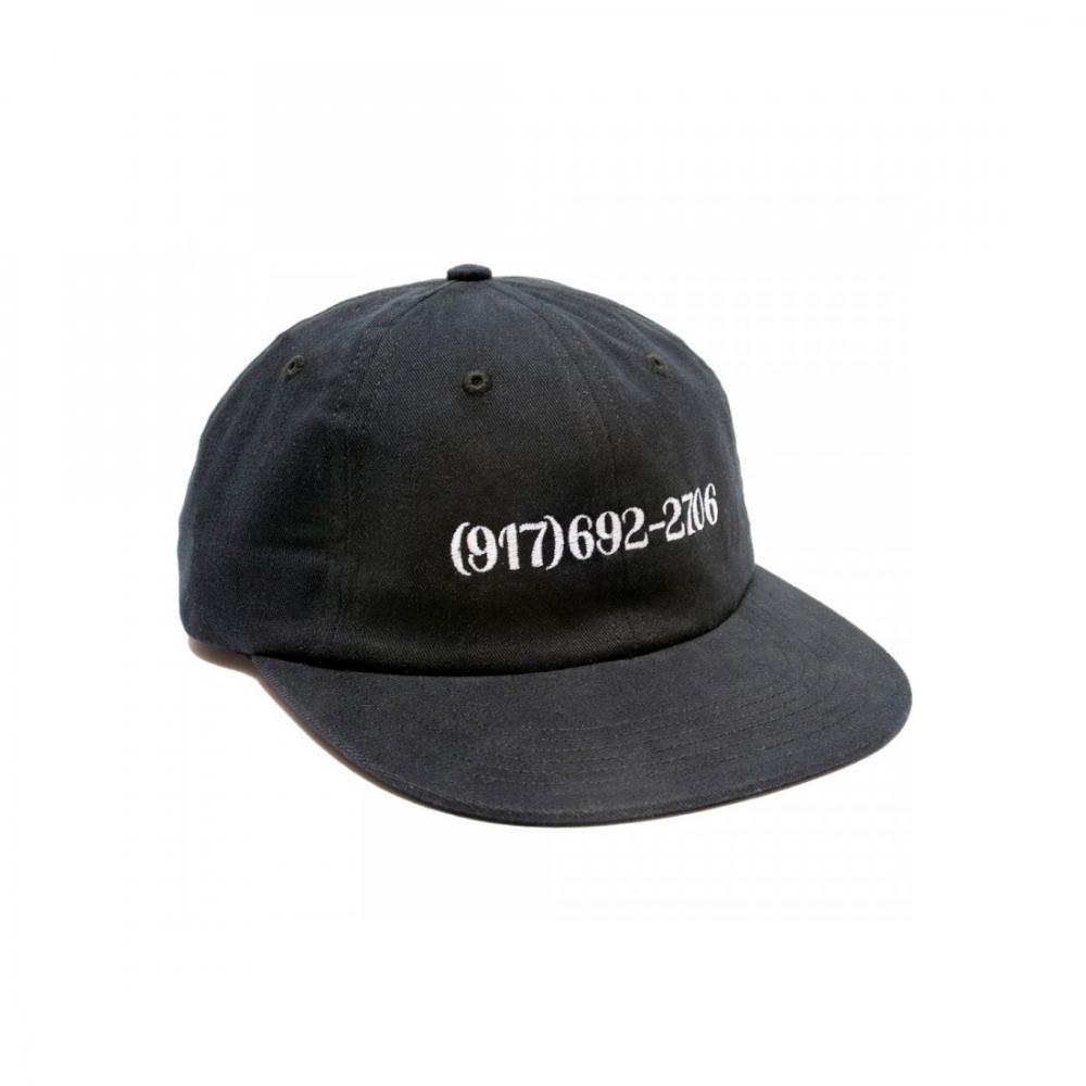 Call Me 917 Dialtone Cap (Black)