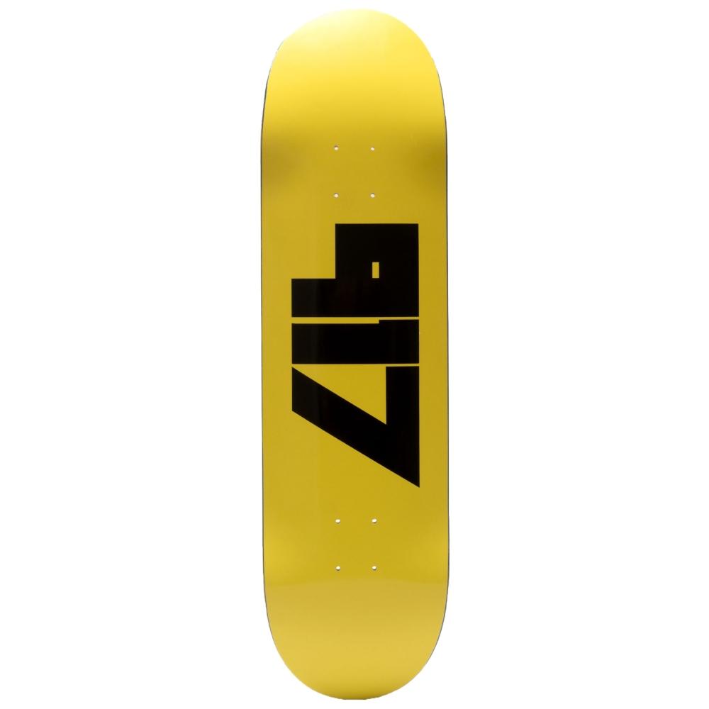 "Call Me 917 Jody Skateboard Deck 8.38"" (Yellow)"